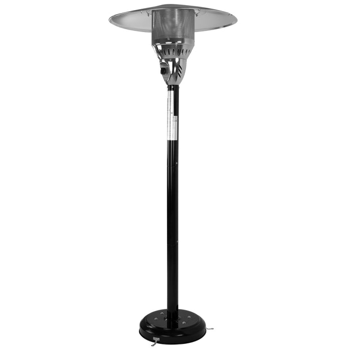 Garden Radiance GR3150NGBK Slim Design Stainless Steel Natural Gas Patio Heater