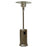 Garden Radiance Stainless Steel & Gold Hammered Outdoor Patio Heater - GS4400GD