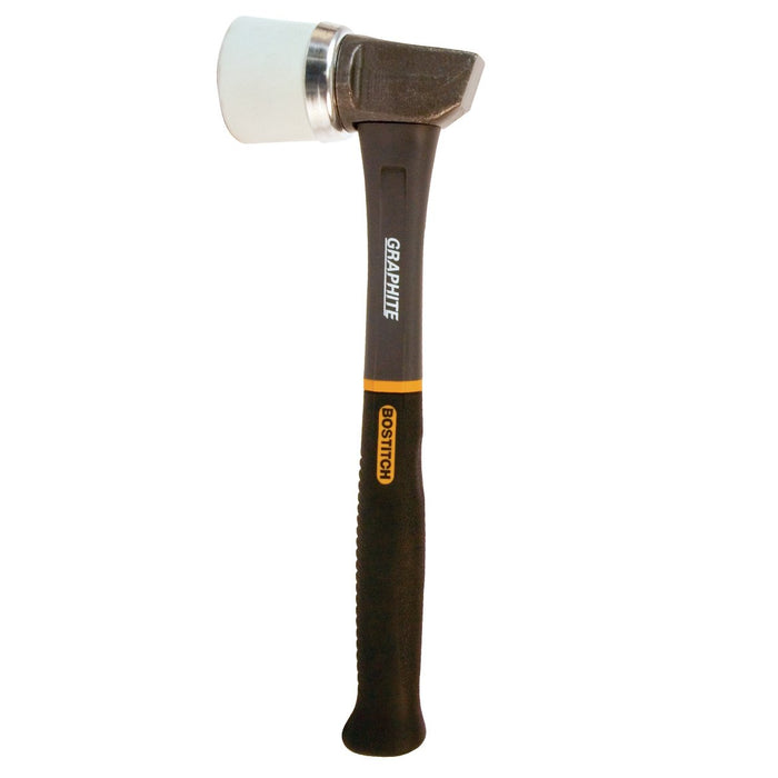 Bostitch HFM-3 45-Ounce Beveled Face Jacketed Graphite Hardwood Flooring Mallet