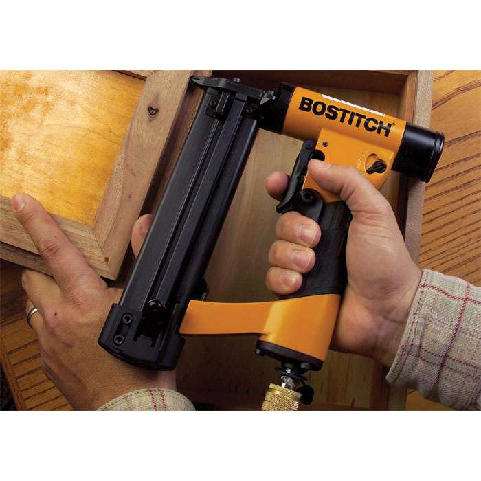 "Bostitch HP118K 1/2"" to 1-3/16"" 23-Gauge Lightweight Aluminum  Pin Nailer"