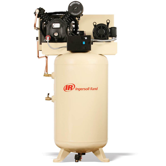 Ingersoll Rand 2475N7.5-P 230-Volt 80-Gallon 1-Phase Air Compressor - —  Factory Authorized Outlet