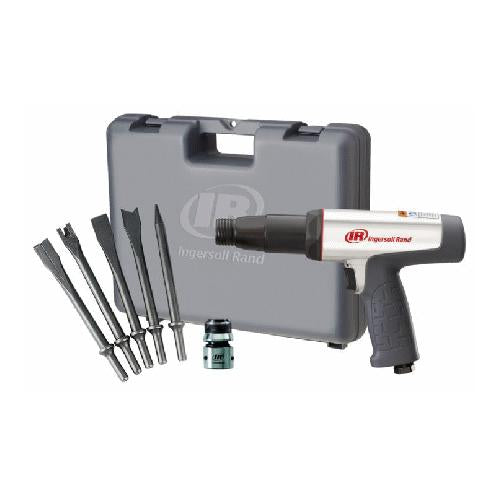 Ingersoll Rand 118MAXK Long Barrel Air Hammer Kit w/ Chisels IR118MAXK