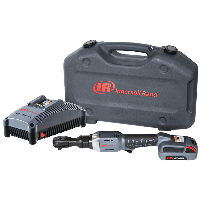 Ingersoll-Rand IR3130-K12 3/8'' Drive 20V Ratchet Driver Kit with a Battery, Charger and a Case