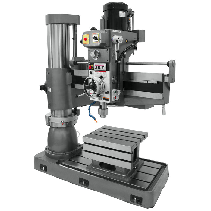 JET J-1230R 5-Hp 230V 4' Heavy Duty Corded Arm Radial Drill Press