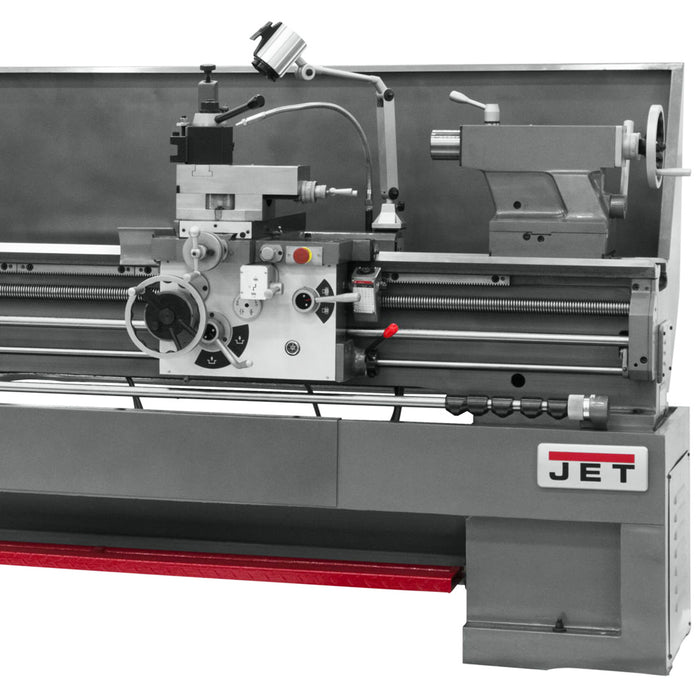 "JET GH-1880ZX 7-1/2-Hp 230/460V 3-1/8"" Durable Spindle Bore Geared Head Lathe"