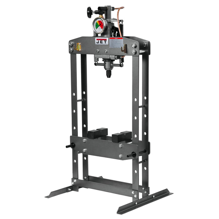 JET HP-5A Heavy Steel Plate H-Frame Hydraulic Press w/ 5 Ton Capacity