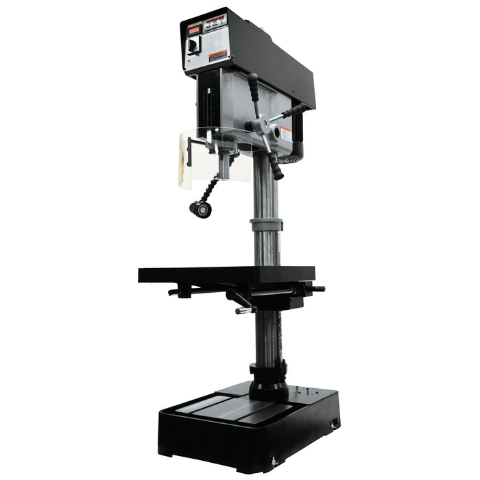 "JET JDP-20VS-3 2-Hp 230/460V 20"" Heavy Duty Variable Speed Drill Press"