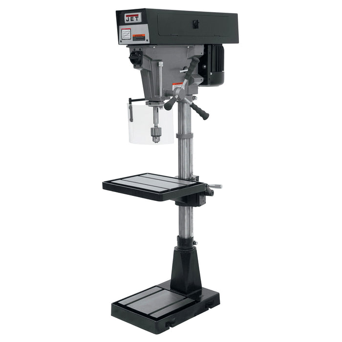 "JET J-A3816 1-Hp 115/230V 15"" Heavy Duty 6-Speed Floor Model Drill Press"
