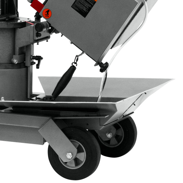JET HVBS-10-DMWC 1-Hp 115V Horizontal/Vertical Dual Miter Saw w/ Coolant System