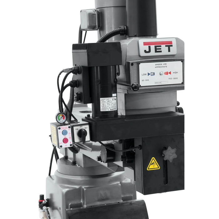 JET JTM-1050EVS2/230 230V Mill w/ 2-Axis Acu-Rite MilPwr G2 CNC Controller