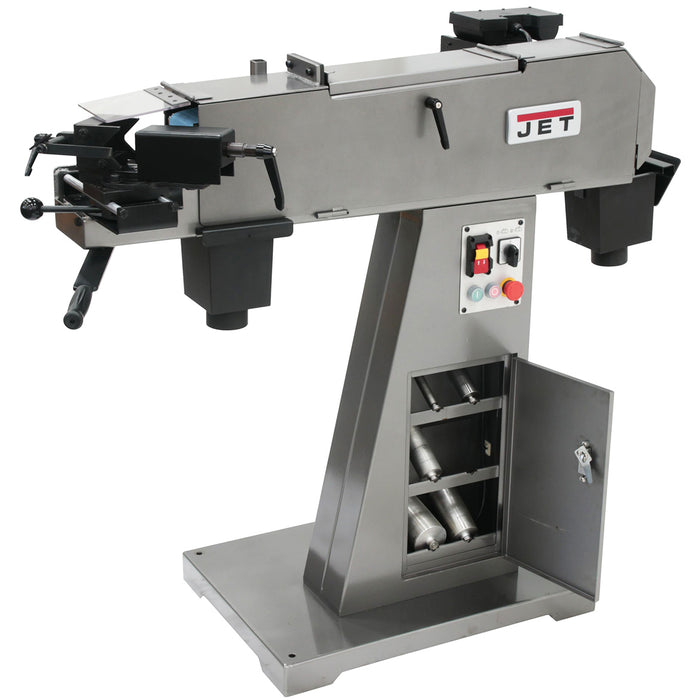 JET DSAN4-1 3-Hp 230V Heavy Duty Dual Station Abrasive Notcher
