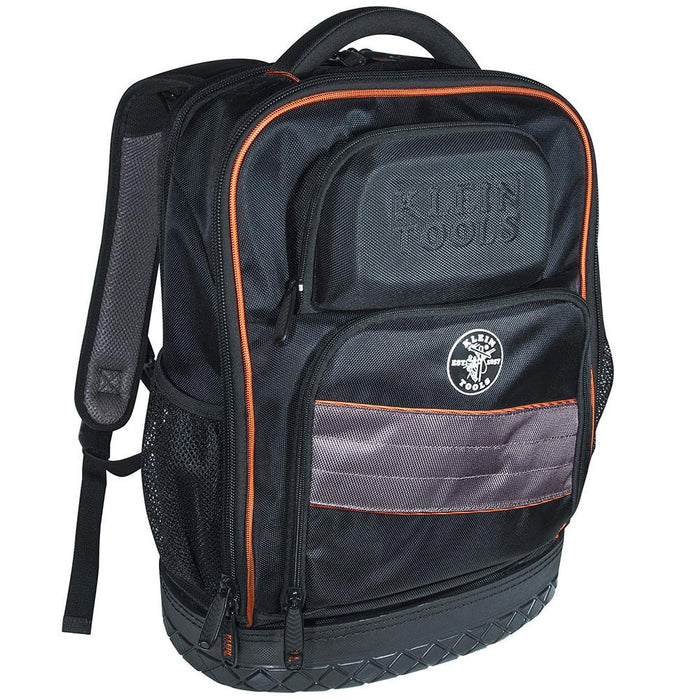 Klein 55439BPTB 18-1/2 x 14.25-Inch 25 Pockets 2.0 Black Pro Tech-Backpack