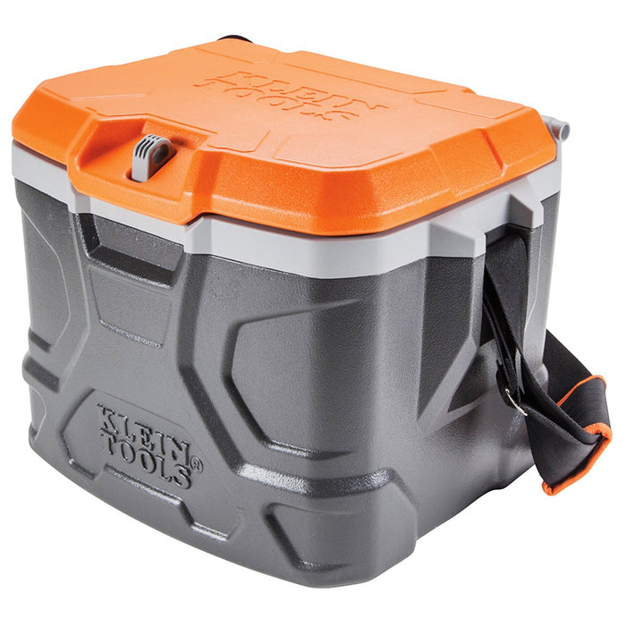 Klein 55600 17 qt. Tradesman Pro Tough Box Hard Cooler, Gray