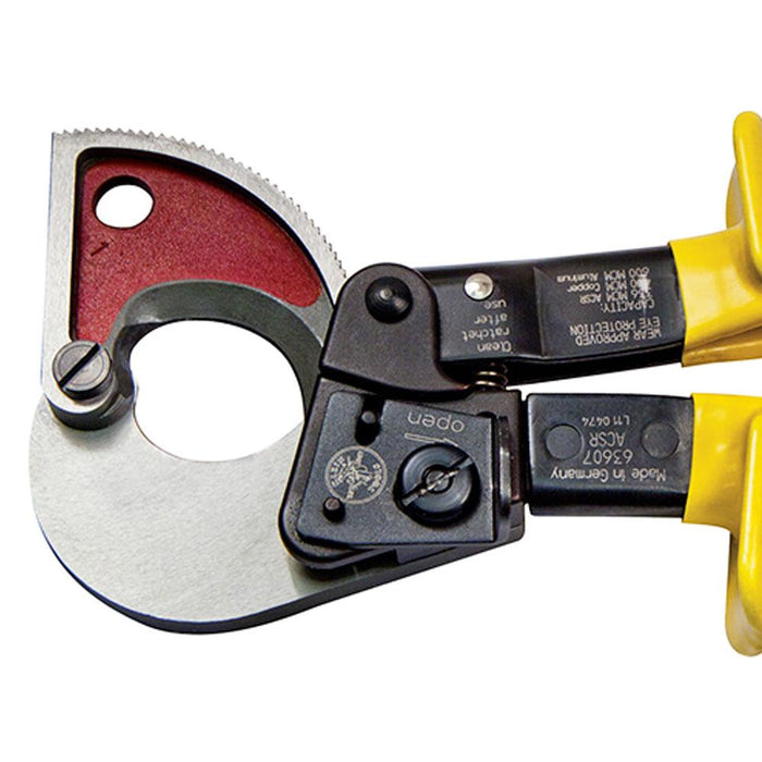 Klein 63607 10-1/4-Inch Heavy Duty Ratcheting Small ACSR Cable Cutter