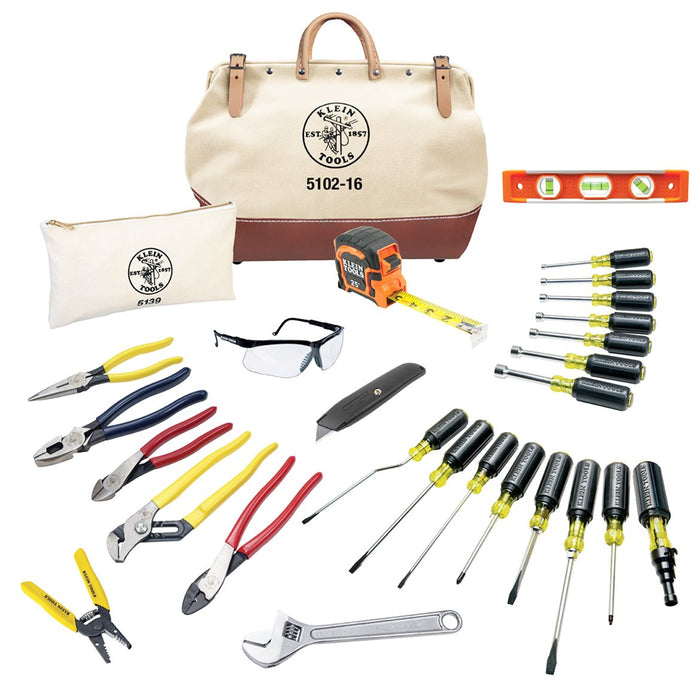 Klein 80028 Complete Electrician Tool Set - 28 pc