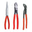 Knipex 00 20 08 US2 Snipe Nose, Diagonal Cutter and Cobra Pliers Set - 3pc