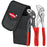 Knipex 00 20 72 V01 5-6-Inch Mini Cobra Pliers and Belt Pouch Set - 2pc