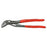 Knipex 87 51 250 10-Inch Chrome V-Jaw Cobra Extra Slim Water Pump Pliers