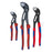 Knipex 9K 00 80 05 US 180, 250, and 300mm Comfort Grip Cobra Set - 3pc
