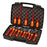 Knipex 9K 98 98 30 US 1,000V Chrome Pliers Screwdriver Tool Case Set - 10pc