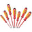 WITTE 9T 653746 1,000V Chrome MAXXPRO Insulated Screwdriver Set - 7pc