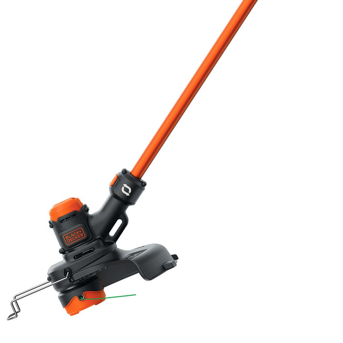 Black and Decker LST560C 60-Volt 13-Inch Easy-Feed Lithium-Ion String  Trimmer