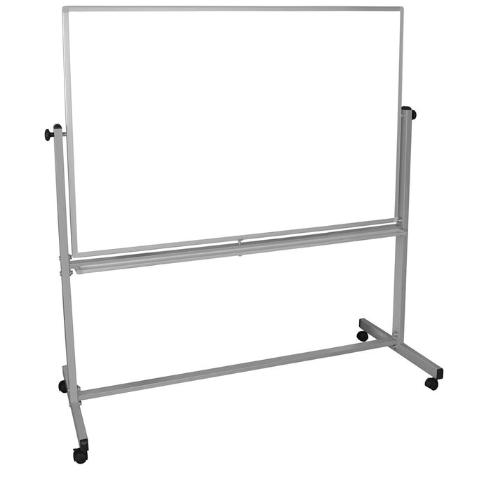 Luxor MB6040WW 60 x 40-Inch Reversible Magnetic Dry Erase Mobile Whiteboard