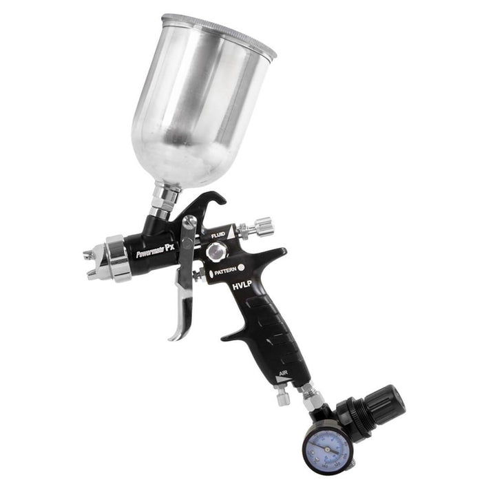 Powermate P010-0037SP Durable Aluminum PX HVLP Gravity Feed Spray Gun