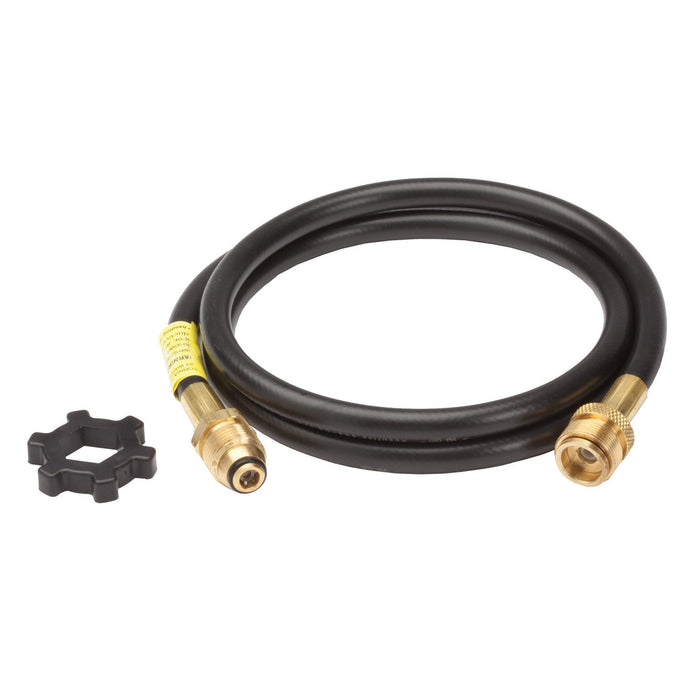 Mr. Heater F273702 12-Foot Length Hand Tightened POL Connection Hose Assembly