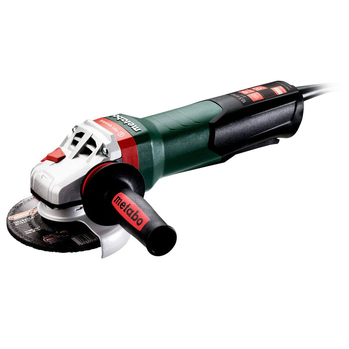 Metabo 600428420 10.5-Amp 11,000RPM Corded Angle Grinder with Non-Locking Paddle