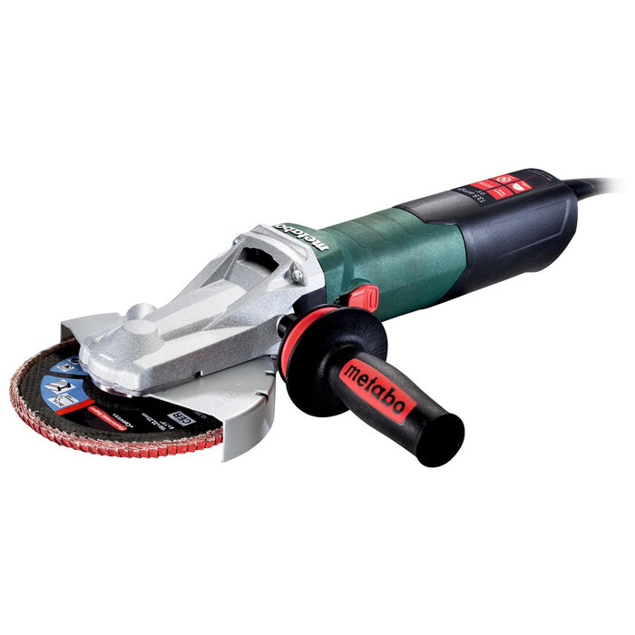Metabo 613083420 6-Inch 13.5-Amp 9,600 RPM Flat Head Grinder with Lock-On Switch