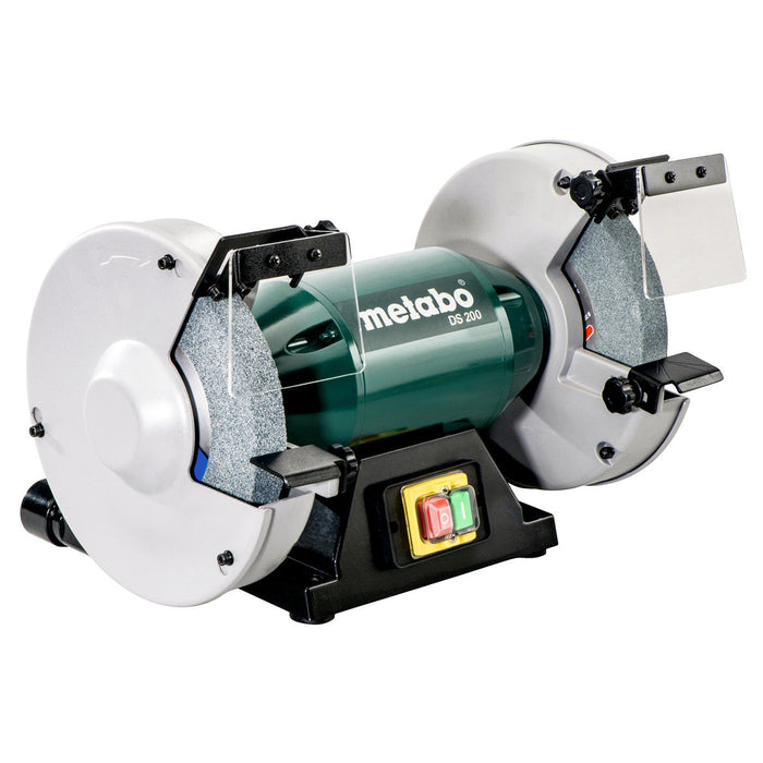 Cool Metabo 619200420 8Inch 4 8 Amp 3 570 Rpm Durable Low Noise Bench Grinder Ncnpc Chair Design For Home Ncnpcorg