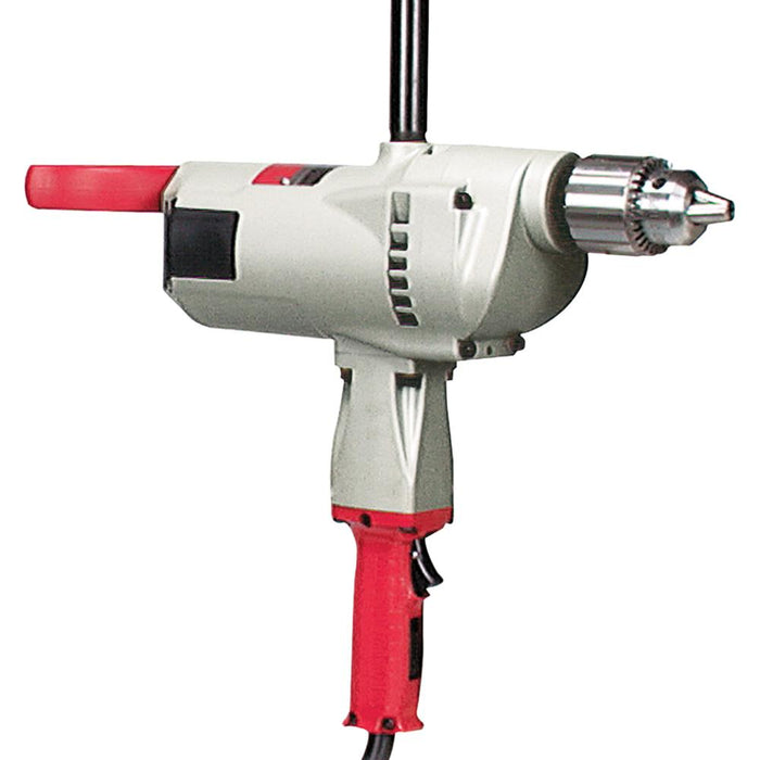 Milwaukee 1854-1 120 AC/DC 3/4-Inch Large Drill 350 RPM w/ Pipe Handle