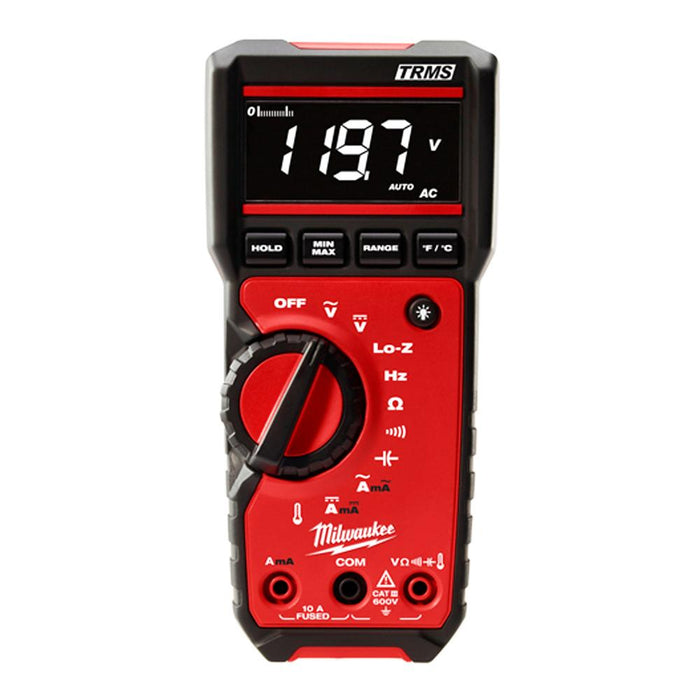 Milwaukee 2217-20NST 600V NIST Lo-Z Measuring True-RMS Digital Multimeter