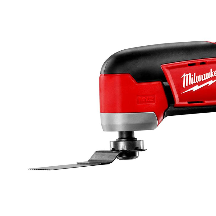 Milwaukee 2426-20 M12 12-Volt Multi-Tool w/ Assorted Sanding Sheets