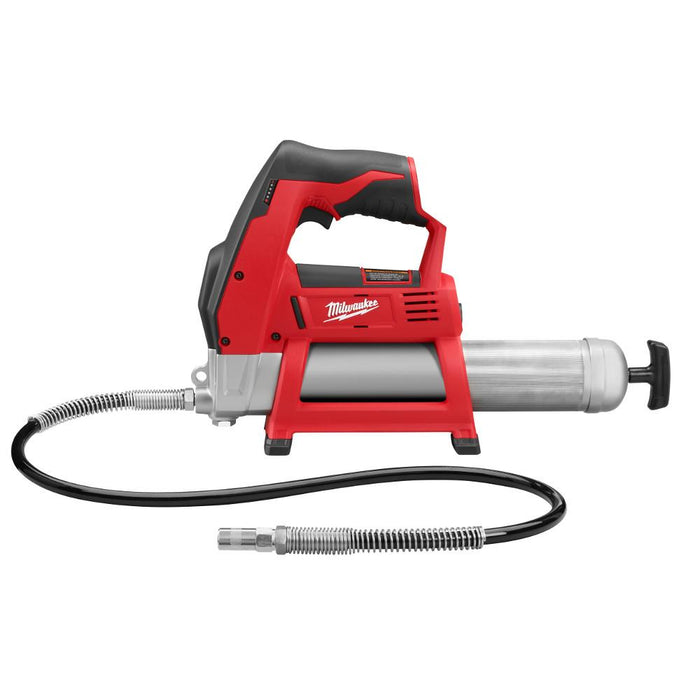 Milwaukee 2446-20 M12 12-Volt 14-Inch Lithium-Ion Grease Gun - Bare Tool