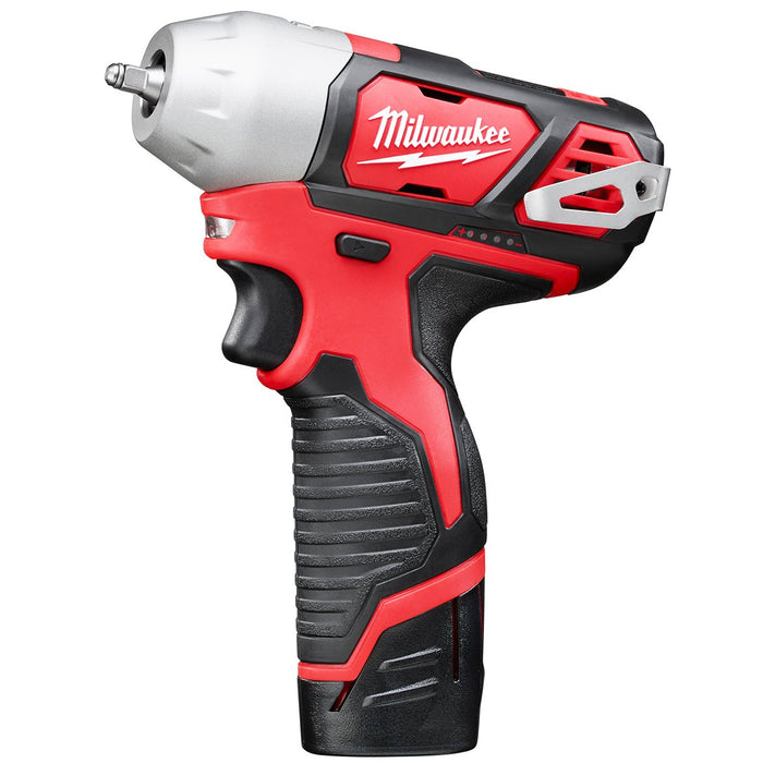 Milwaukee 2461-22 M12 12V 1/4-Inch Impact Wrench w/ Batteries