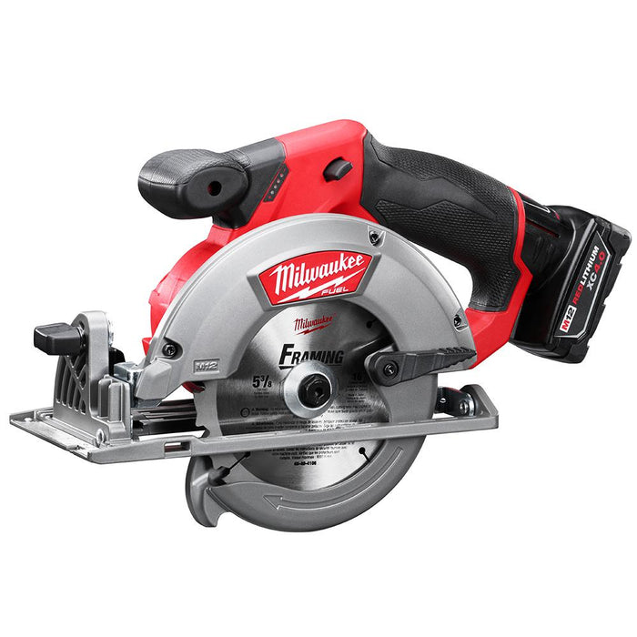 Milwaukee 2530-21XC M12 FUEL 12V 5-3/8-Inch Circular Saw w/ Battery
