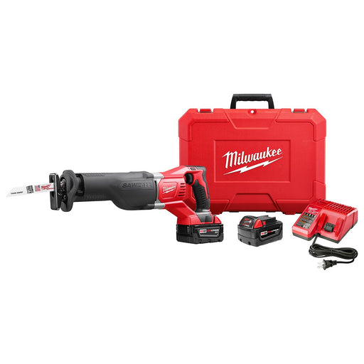 Milwaukee 2621-22 M18 18-Volt 1-1/8-Inch Stroke SAWZALL Reciprocating Saw Kit