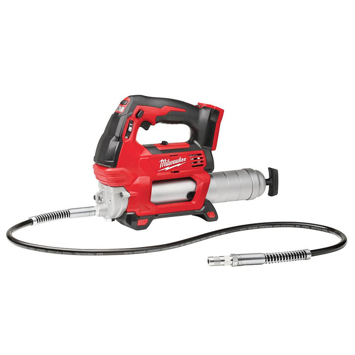 Milwaukee 2646-20 M18 18V 2-Speed 48-Inch Hose Grease Gun - Bare Tool