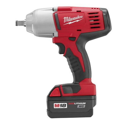 Milwaukee 2663-22 M18 18-Volt 1/2-Inch High-Torque Impact Wrench w/ Batteries