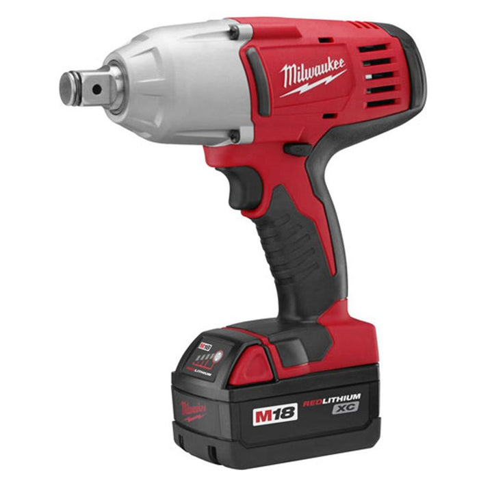 Milwaukee 2664-22 M18 18V 3/4' High-Torque Impact Wrench w/ Batteries