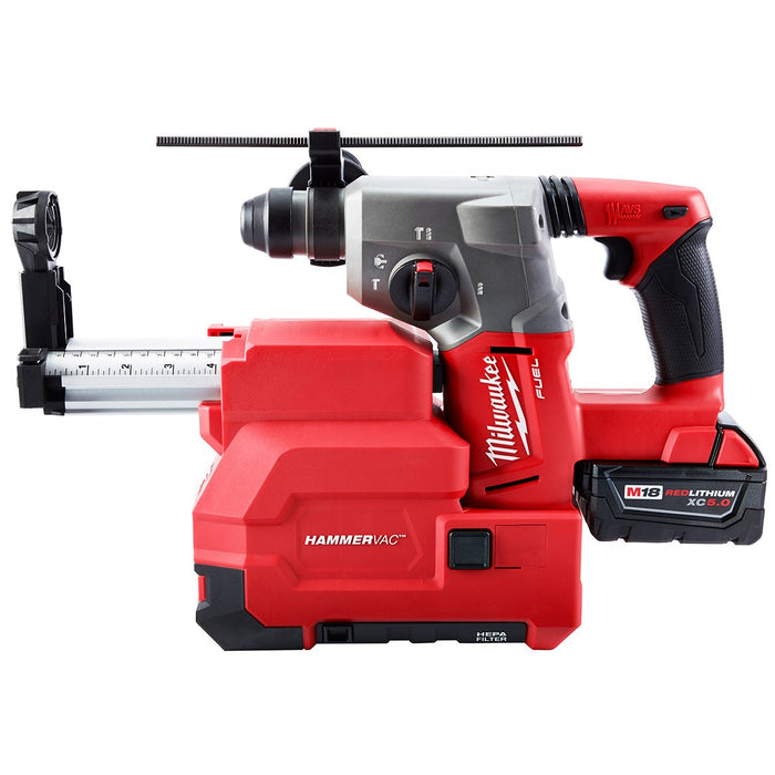 Milwaukee 2712-22DE M18 FUEL 18V 1-Inch SDS Plus Rotary Hammer w/ Batteries