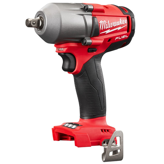 Milwaukee 2860-20 M18 FUEL 18V 1/2-Inch Pin Detent Impact Wrench - Bare Tool