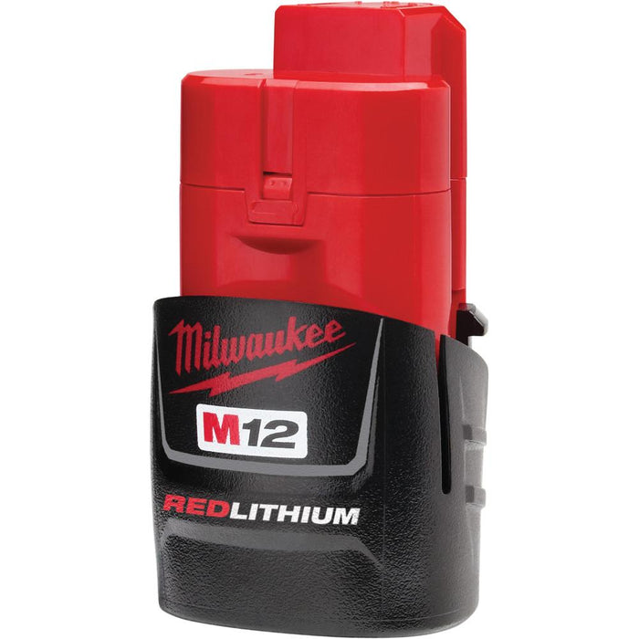 Milwaukee 48-11-2401 M12 12V 1.4Ah REDLITHIUM Compact Ergonomic Battery