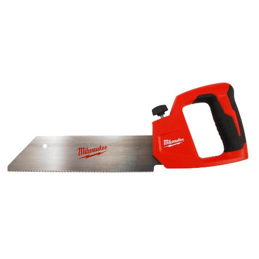 Milwaukee 48-22-0212 12-Inch Metal Core Clamshell Design PVC/ABS Hand Saw