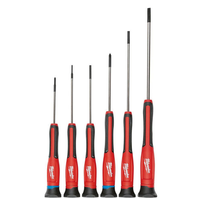 Milwaukee 48-22-2606 Multi-Tip Color Coded Precision Screwdriver Set - 6pc