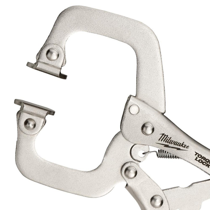 Milwaukee 48-22-3522 6-Inch Torque-Lock Locking C-Clamp Swivel Jaw Pliers
