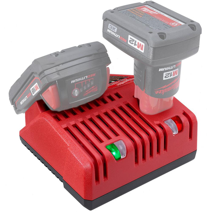 Milwaukee 48-59-1812 M18 and M12 18 and 12-Volt Multi-Voltage Rapid Charger