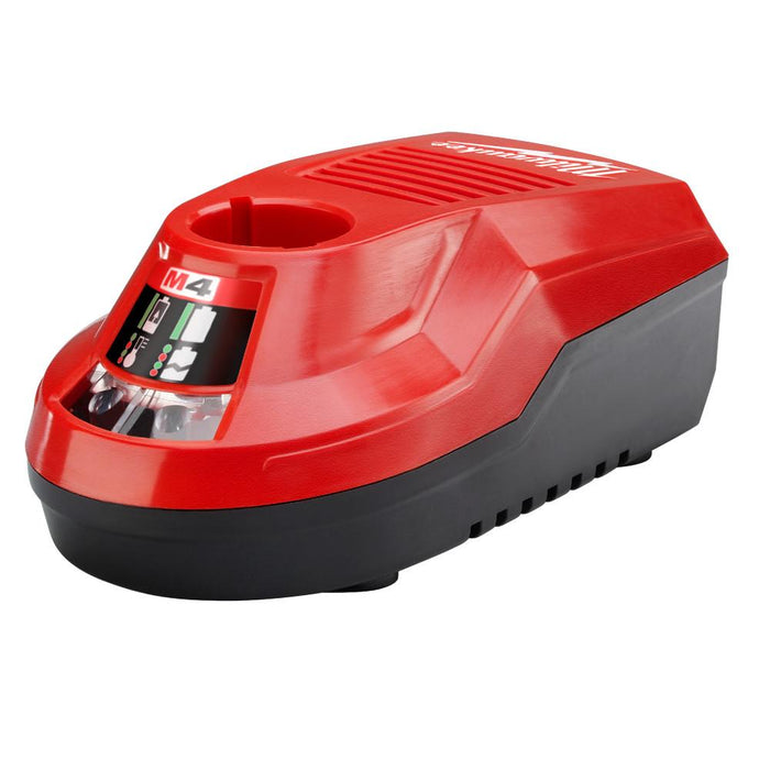 Milwaukee 48-59-2001 M4 4-Volt Slim Profile REDLITHIUM Bench Top Charger